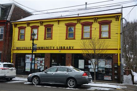 Millvale Library's solar panels collect more energy than the library needs, which means savings on the mortgage and more money for programs.