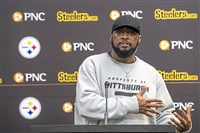 Steelers head coach Mike Tomlin is entering his 13th season with the team.